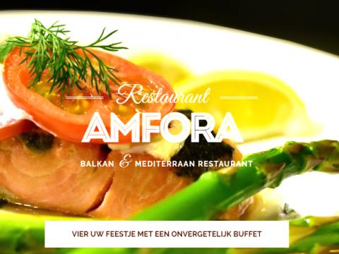 Nieuwe website restaurant Amfora